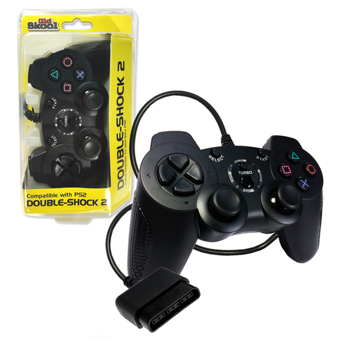 Playstation 2 Double-Shock Controller Black