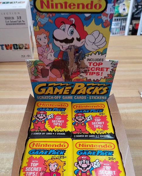 Nintendo Game Pack Cards