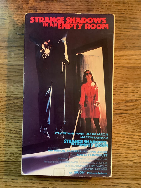 Strange Shadows in an Empty Room VHS