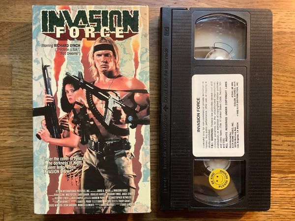 Invasion Force VHS (AIP)