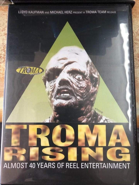 Troma Rising Almost 40 Years USED DVD