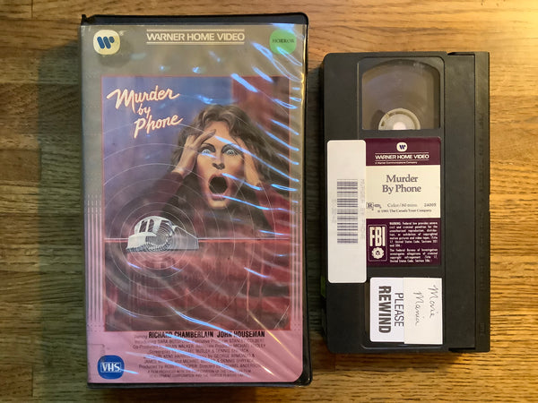 Murder By Phone VHS (Clamshell)