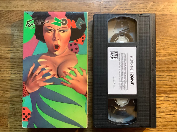 Forbidden Zone VHS (Substance)
