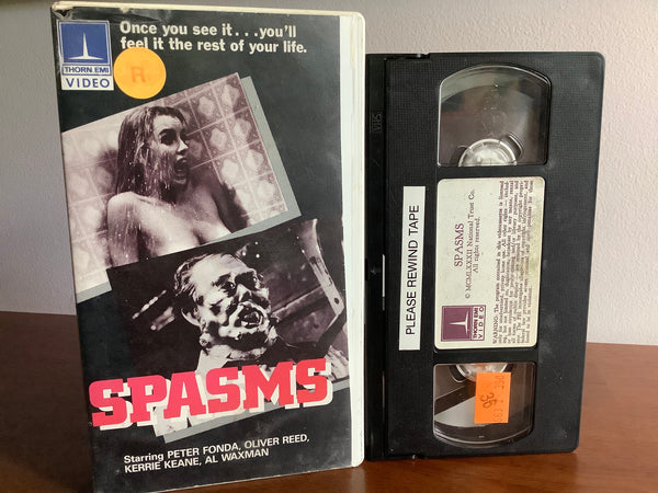 Spasms VHS (Thorn EMI, some issues!)