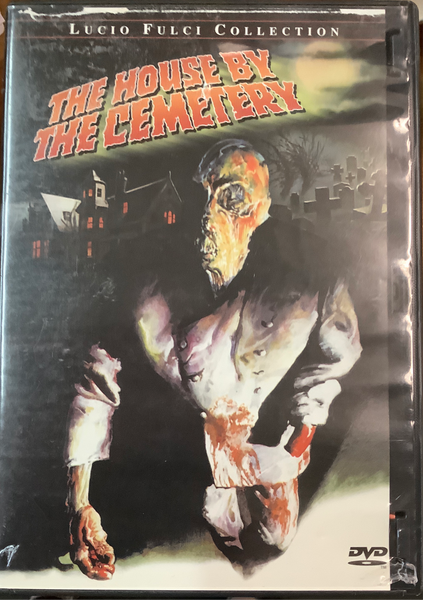 The House by the Cemetery USED DVD
