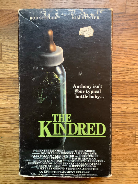 The Kindred VHS