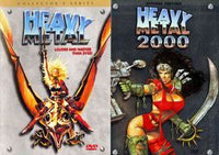 Heavy Metal/Heavy Metal 2000 Double Feature USED DVD