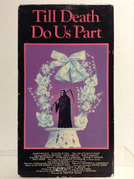 Till Death Do Us Part VHS (Vestron Video)