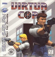 Sega Saturn Stunner Light Gun w/ Virtua Cop