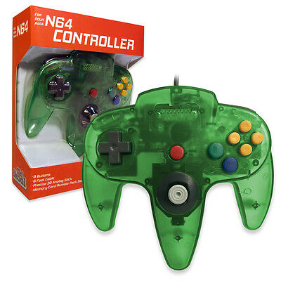 Nintendo 64 Controller Jungle Green