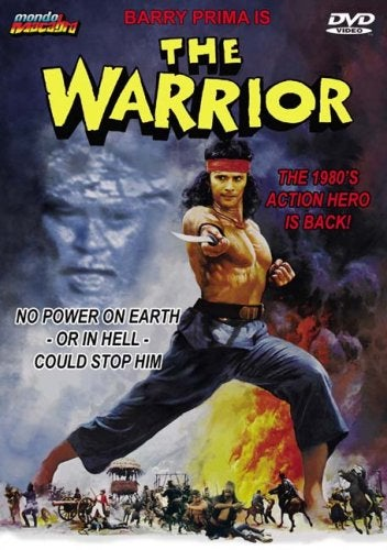 The Warrior (Promo, hole punch in UPC) USED DVD