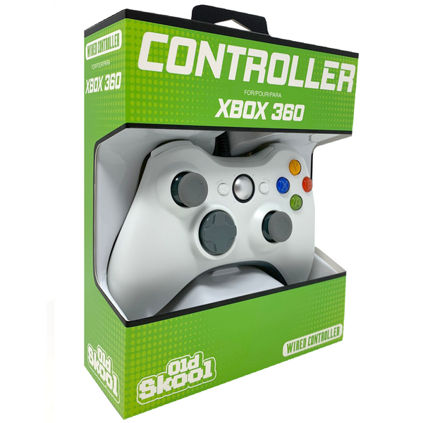 XBOX 360 Controller Wired - White