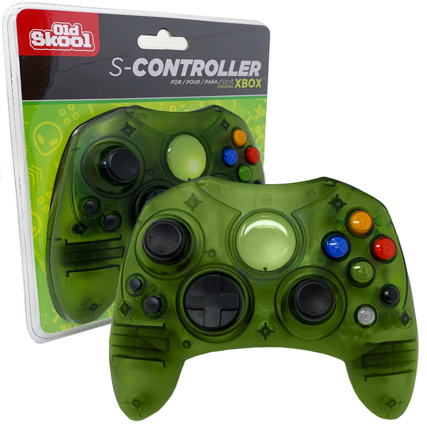 XBOX ORIGINAL Wired S Controller Green