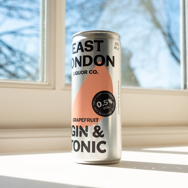 East London Gin & Tonic 0.5% ABV