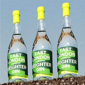 East London Liquor Brighter Gin Bottles