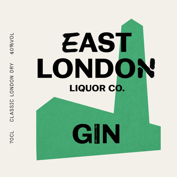 East London Gin, 40% ABV