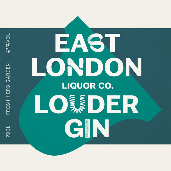 East London Liquor Louder Gin