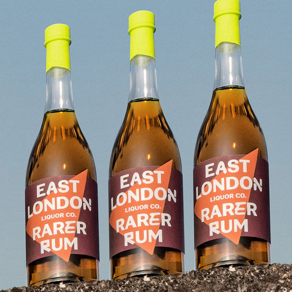 East London Liquor Rarer Rum Demerara Guyana Bottles