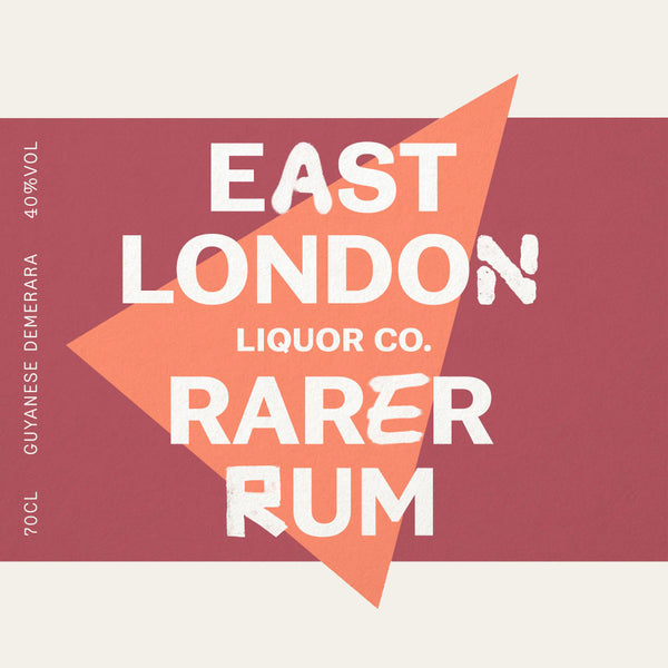 East London Liquor Rarer Rum Demerara Guyana