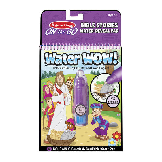 Water Wow!  Bible Stories Water Reveal Pad