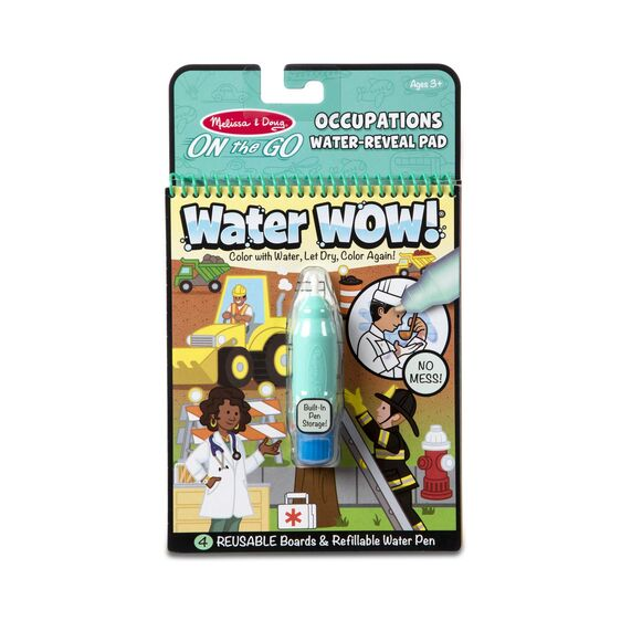 Water Wow! - Occupation - Water Reveal Pad On the Go Trvael Activity
