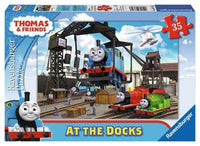 At the Docks Puzzle | 35 Pieces