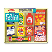 Pantry Products - Wooden Play Food
