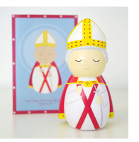 "Saint Pope John Paul II ""the Great"" Shining Light Doll"