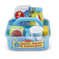 Spray, Squirt, and Squeegee