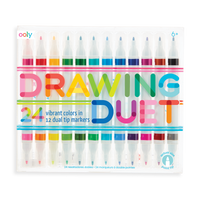Drawing Duet | 12 Dual Tip Markers