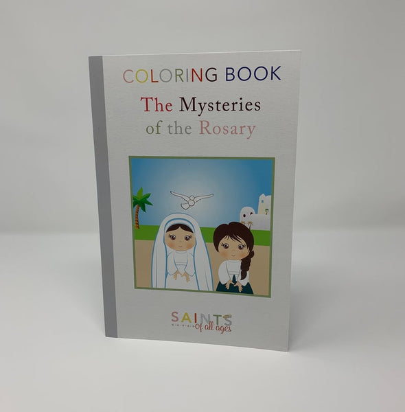 Catholic Mysteries of the Rosary Coloring Book
