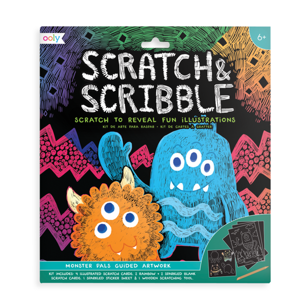 Monster Pals | Scratch & Scribble