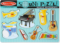Musical Instruments | Sound Puzzle