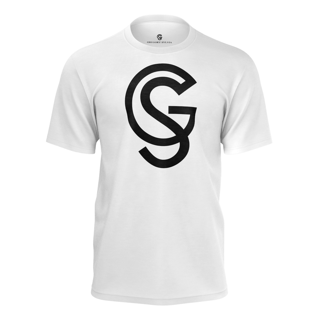 GS large monogram t-shirt - Gregory Sylvia