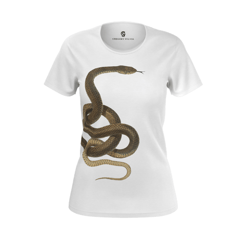 Coiled Snake tee - Gregory Sylvia
