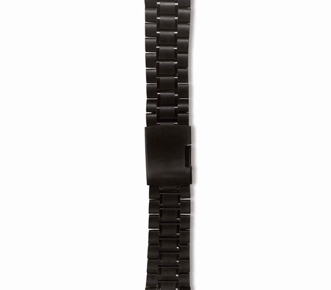 Black Link Watch Strap - Gregory Sylvia