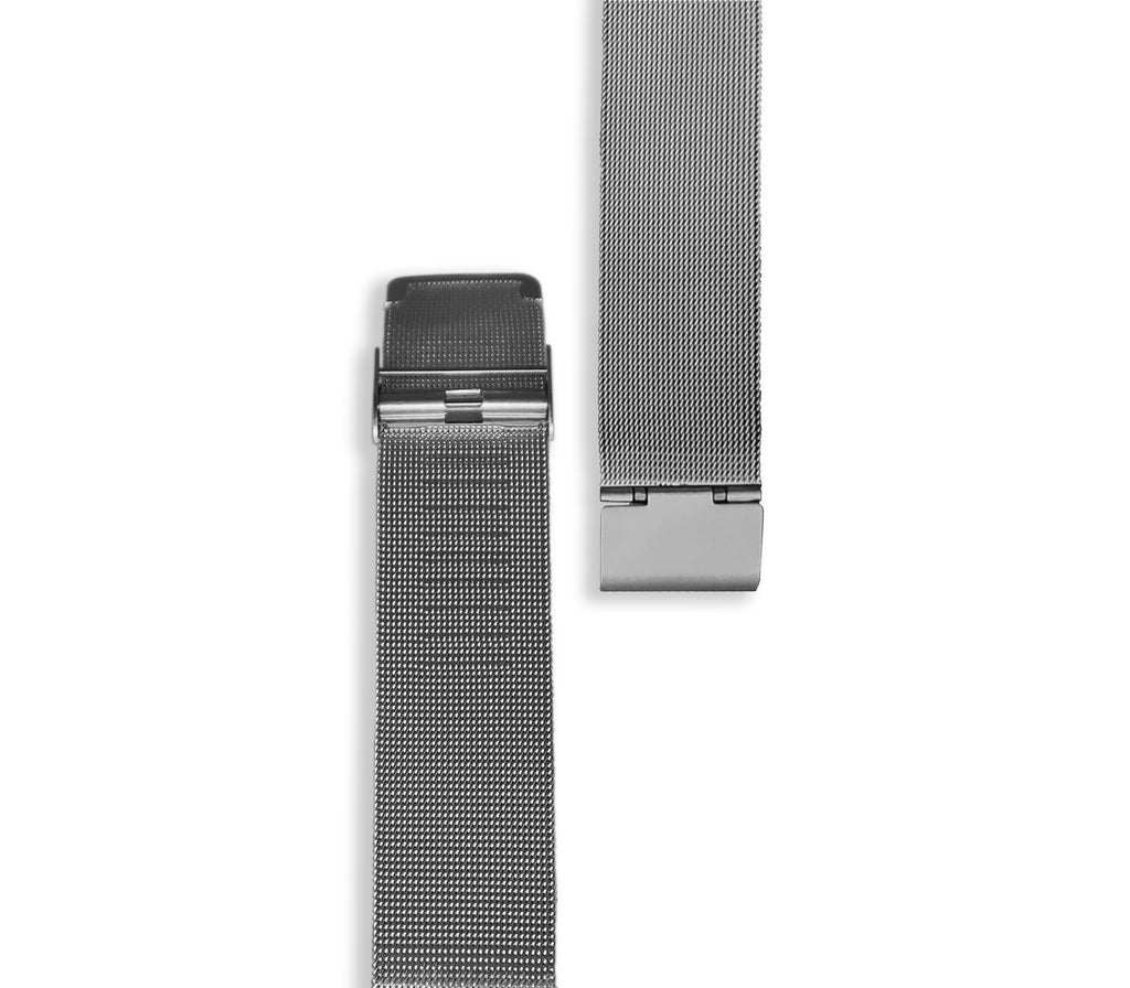 Silver Mesh Watch Strap - Gregory Sylvia