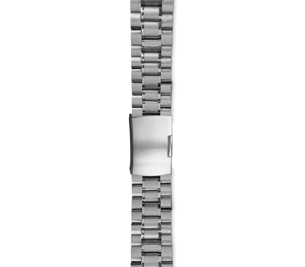 Silver Link Watch Strap - Gregory Sylvia
