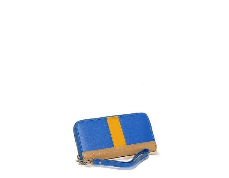 Haute of Gold wallet (blue) - Gregory Sylvia