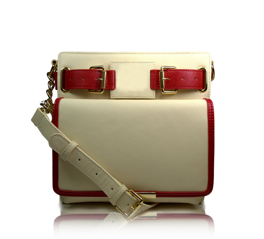 1913 Uptown Crossbody (cream)