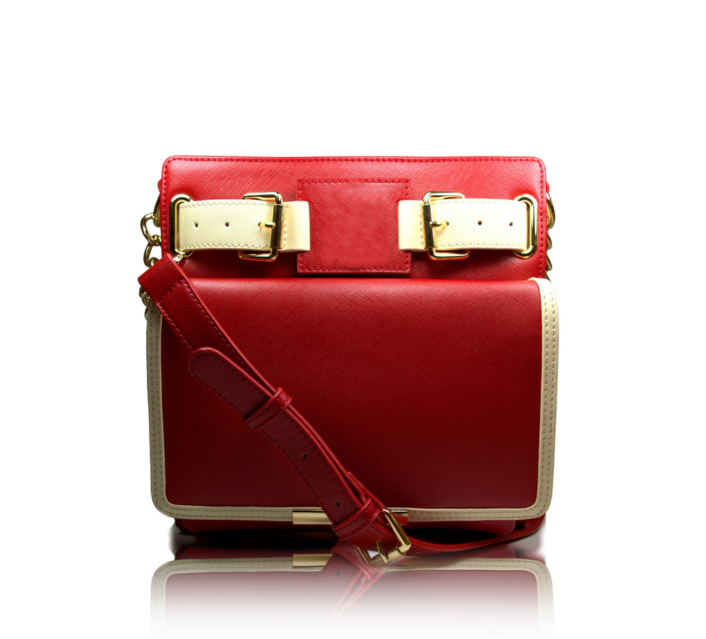 1913 Uptown Crossbody (crimson) - Gregory Sylvia