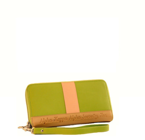 Highly AKAlaimed Wallet (green) - Gregory Sylvia