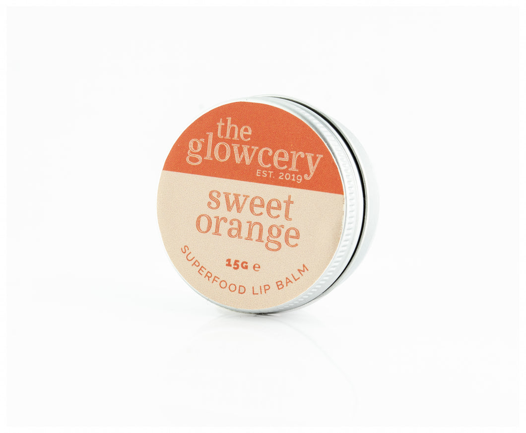 Sweet Orange - Superfood Natural Lip Balm