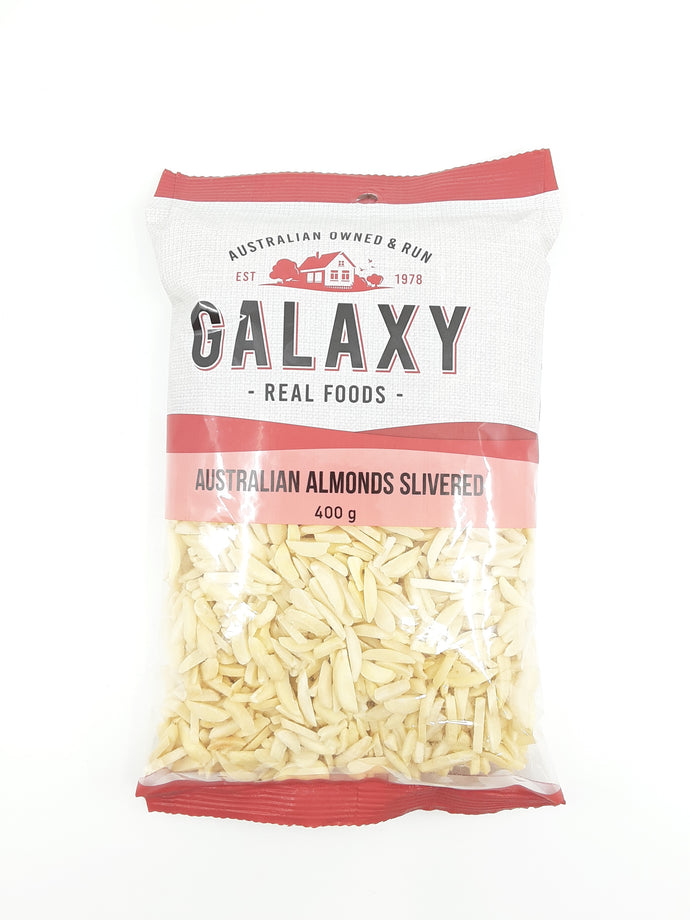 Galaxy Australian Almonds Slivered - 400g