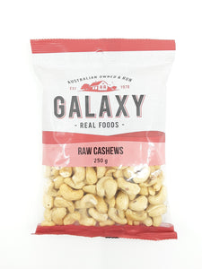 Galaxy Raw Cashews - 250g