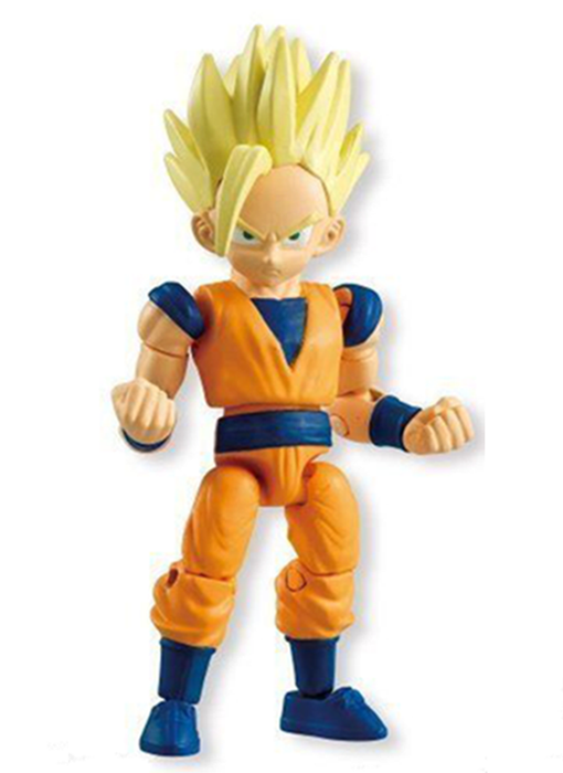 Dragon Ball Super 66 Action Dash Saiyan Goku Black Rose Mini Action Toy Figure