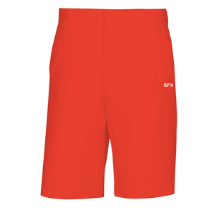 EFX GOLF SHORTS - BRIGHT RED