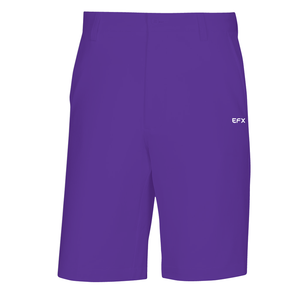 EFX GOLF SHORTS -  PURPLE
