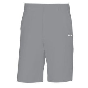 EFX GOLF SHORTS - MEDIUM GRAY