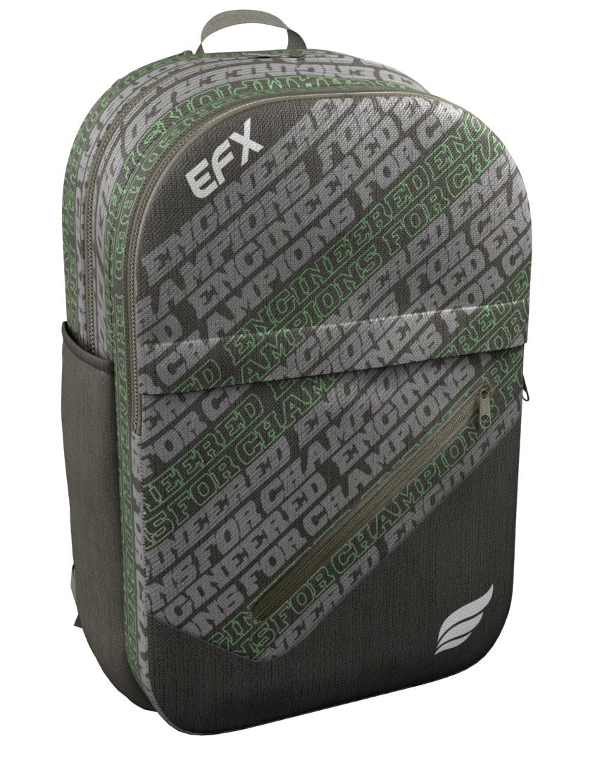 EFX - ENGINEERED FOR CHAMPIONS GREEN BACKPACK